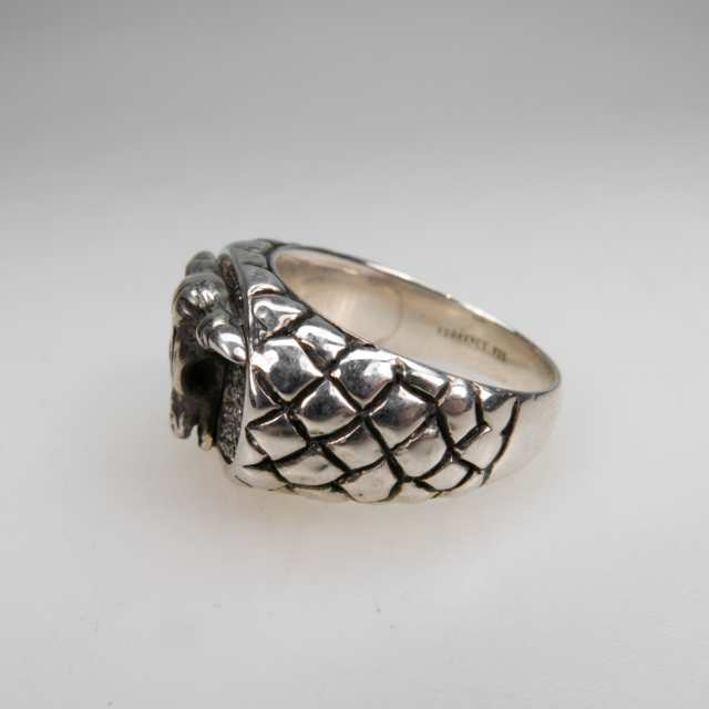 Men's Sterling Silver 'Western' Ring