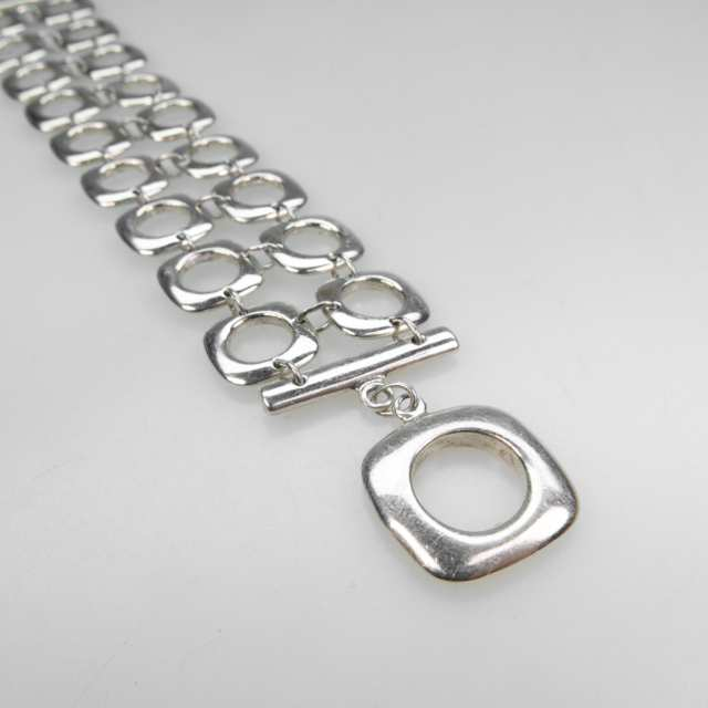 Tiffany & Co. Sterling Silver Double Bracelet