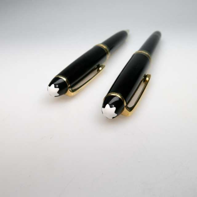 Montblanc Meisterstuck Le Grand Rollerball And Classique Ballpoint Pens