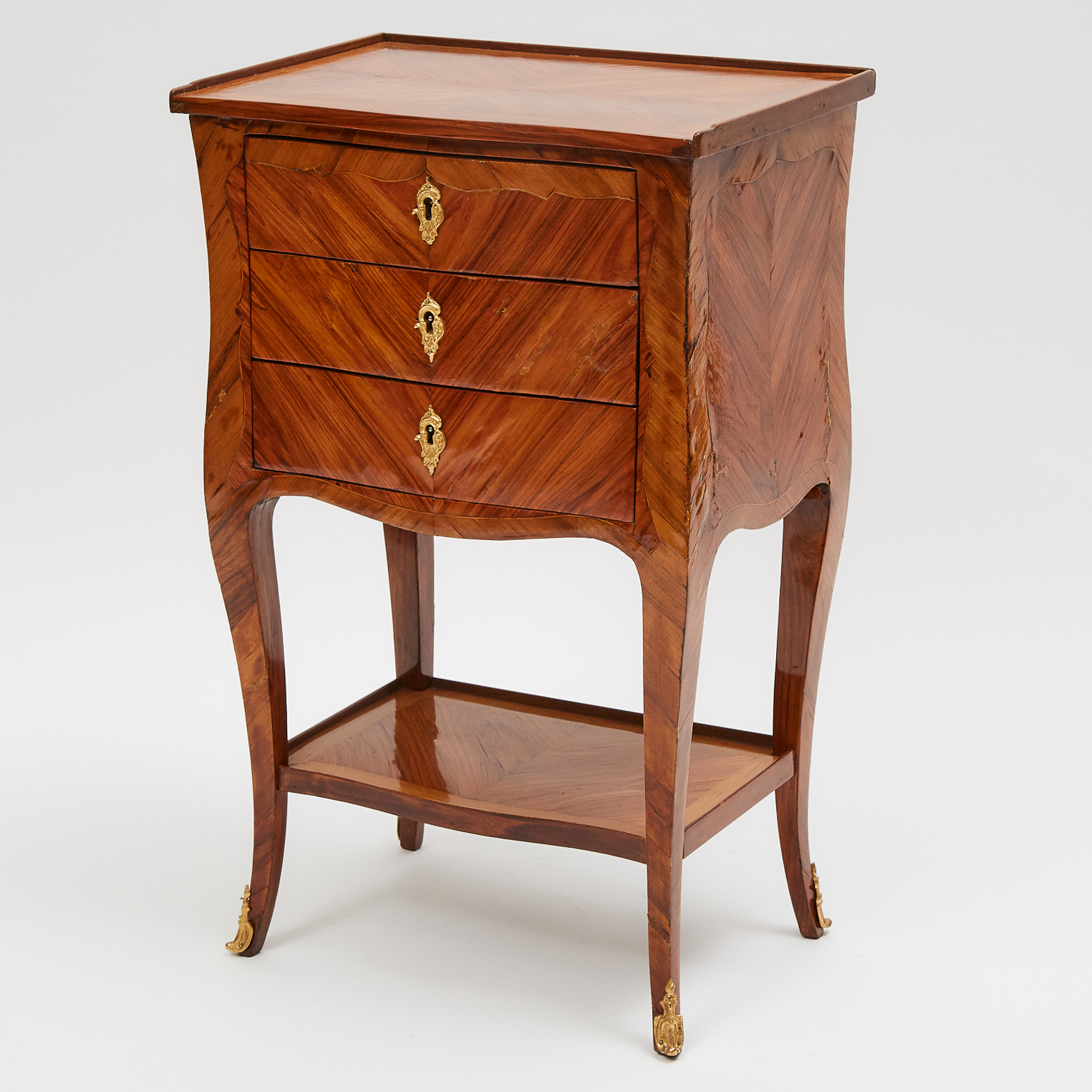 French Kingwood Table en Chiffonier, late 18th century