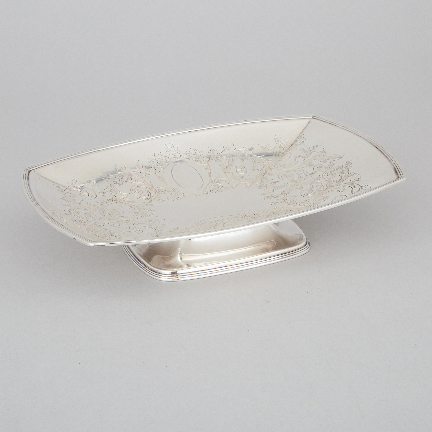 English Silver Oblong Dish, Cooper Bros. & Sons, Sheffield, 1926