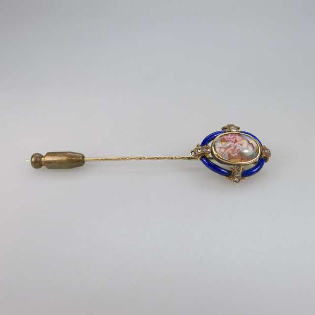 14k Yellow Gold Stickpin