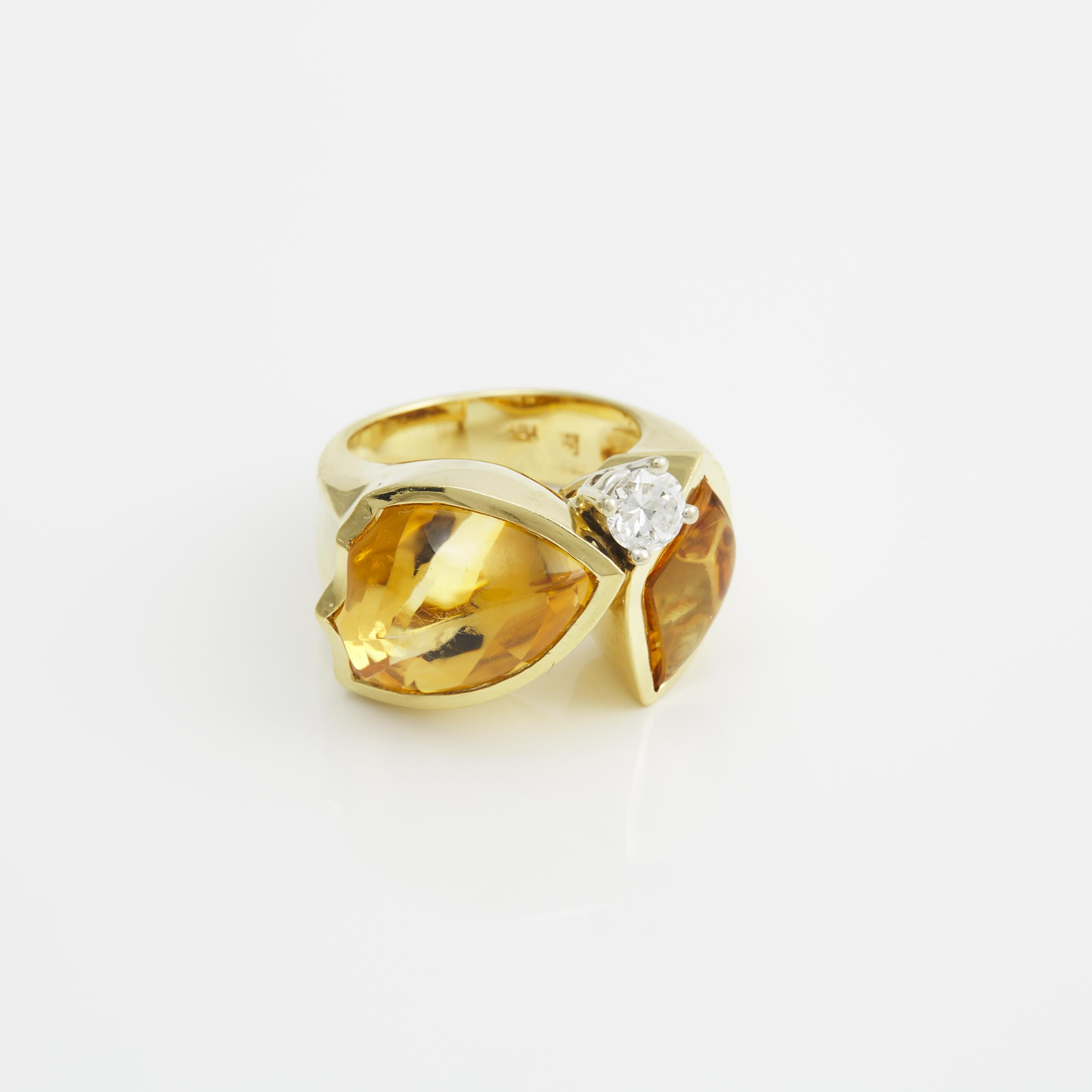 18k Yellow Gold Cocktail Ring