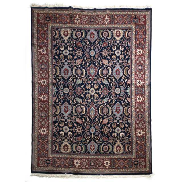 Indian Sarouk Carpet, c.1960