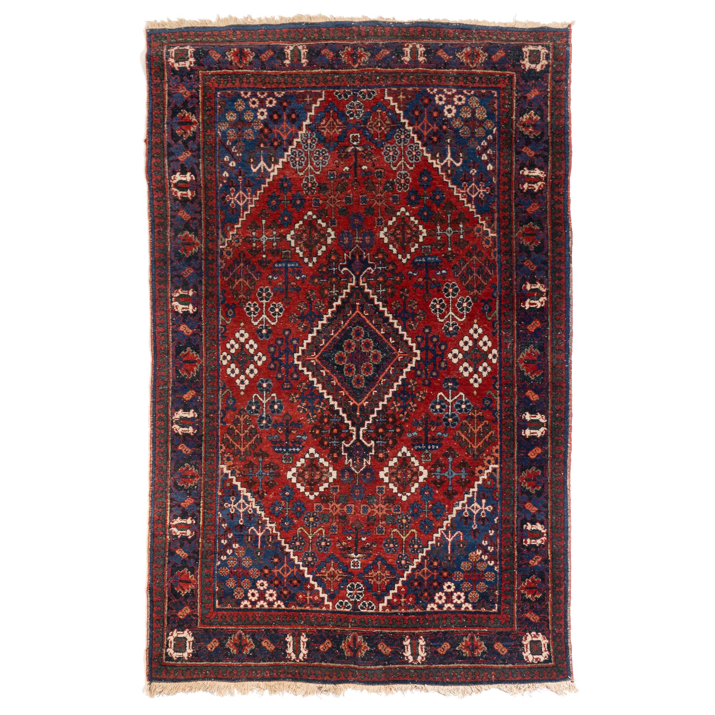 Shiraz Rug, Persian, mid 20th century