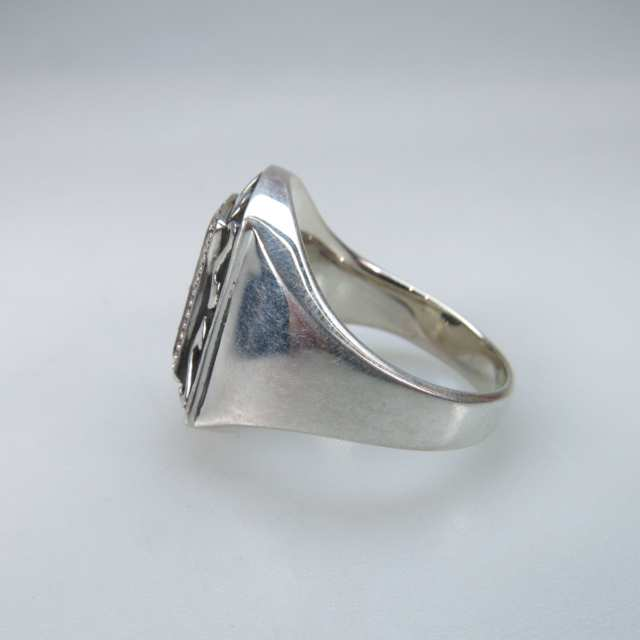 Men's Sterling Silver 'Medieval' Ring