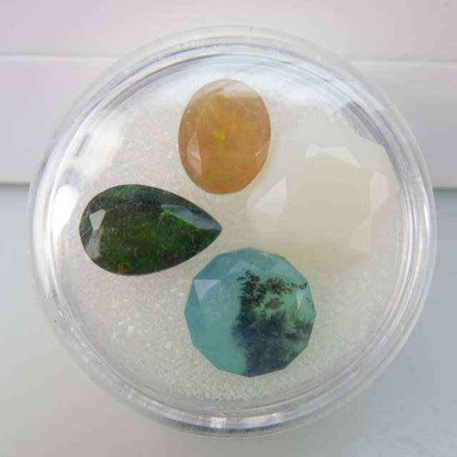 Selection Of Unusual Cut Gemstones