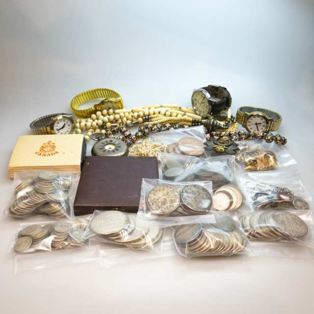 Quantity Of Jewellery, Watches And Coins