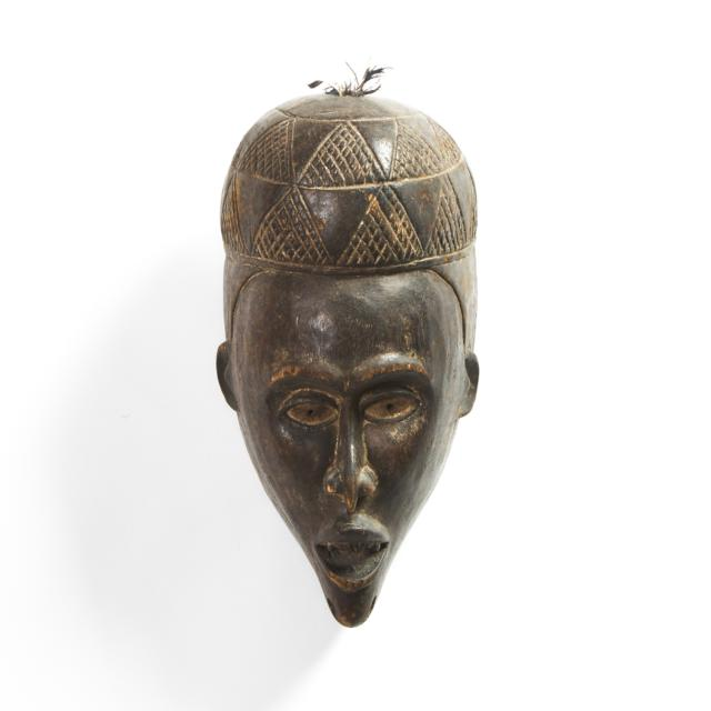 Kongo Yombe Mask, Democratic Republic of Congo, early to mid 20th century
