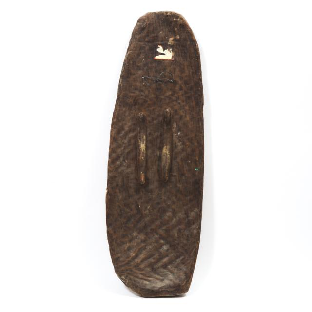 April River Shield, Sepik Region, Papua New Guinea, early to mid 20th century