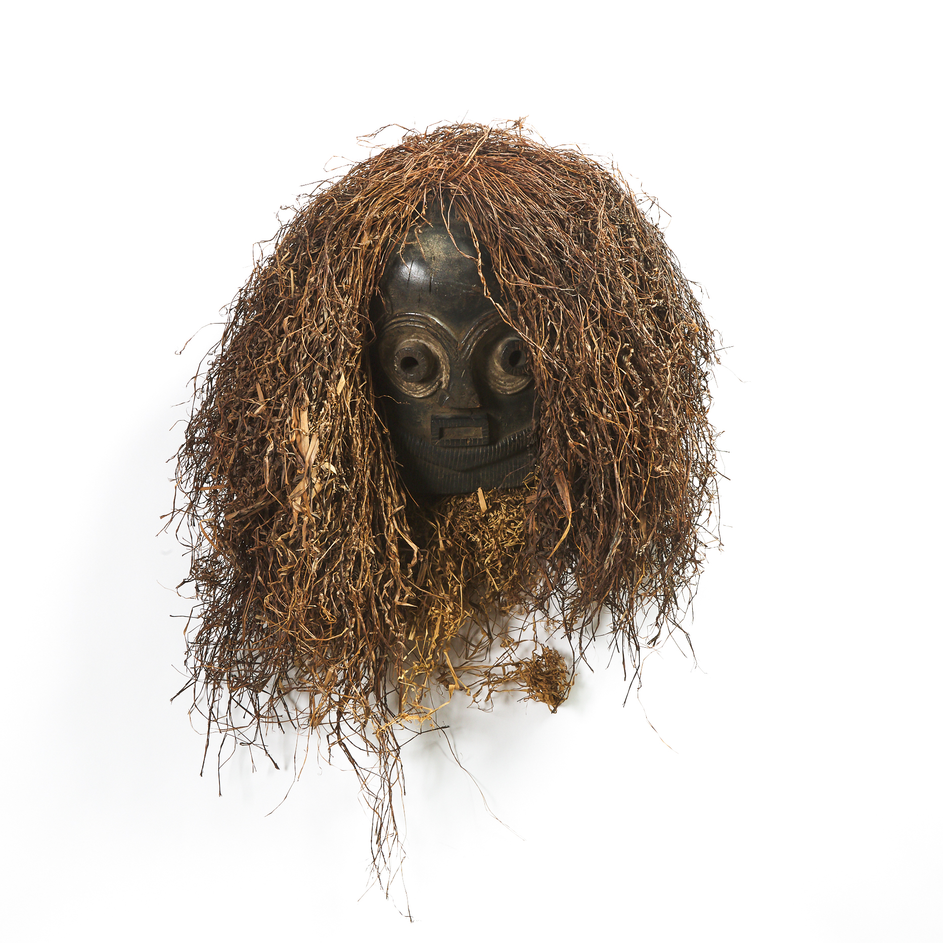 Basikasingo Bembe Mask, Democratic Republic of Congo, Central Africa, early to mid 20th century
