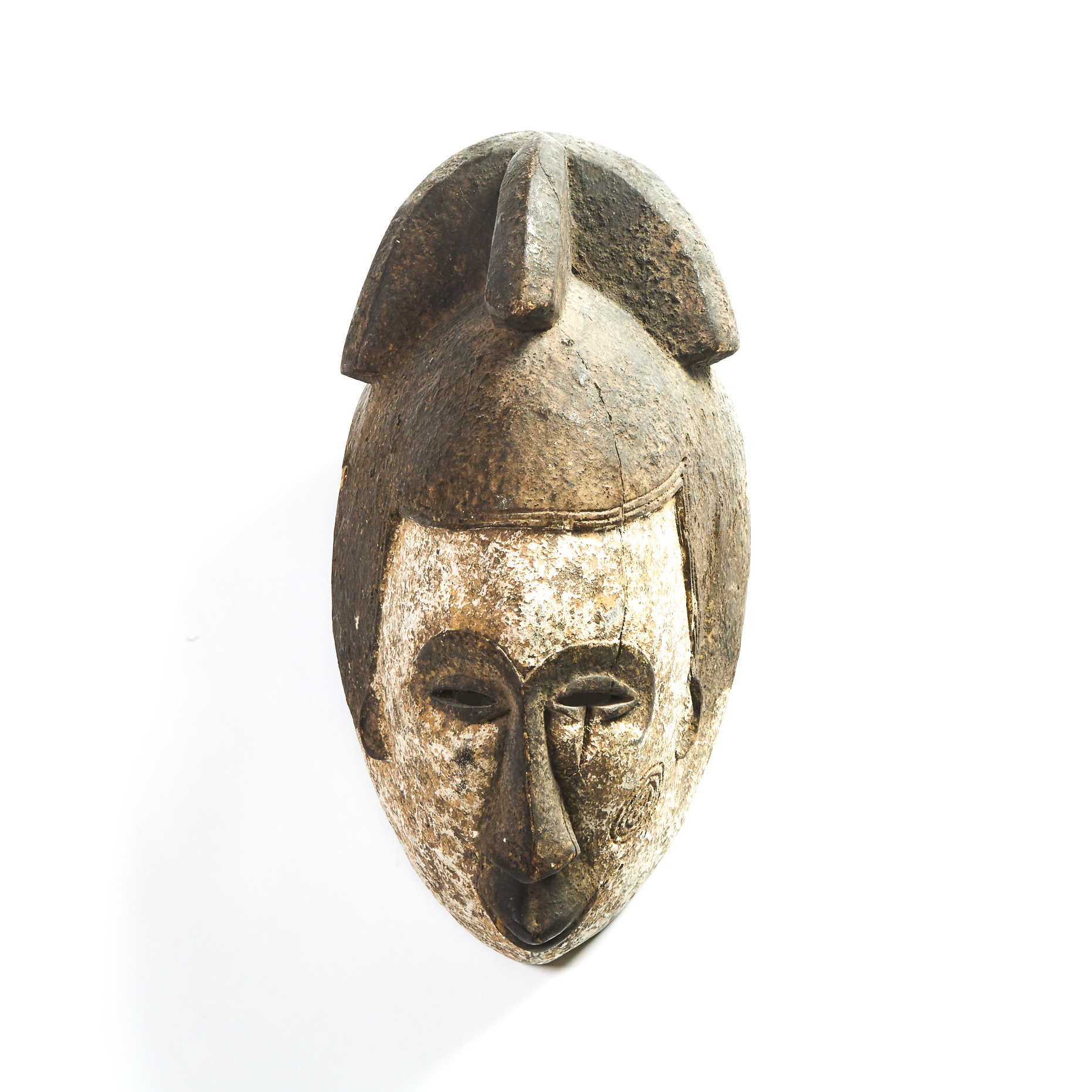 Punu Mask, Gabon, Central Africa, mid 20th century
