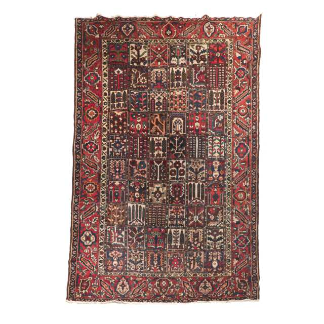 Bakhtiari Carpet, Persian, c.1960