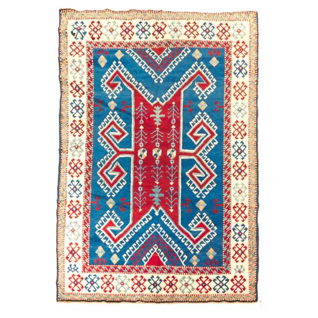 Turkish Kazak Rug, c.1965
