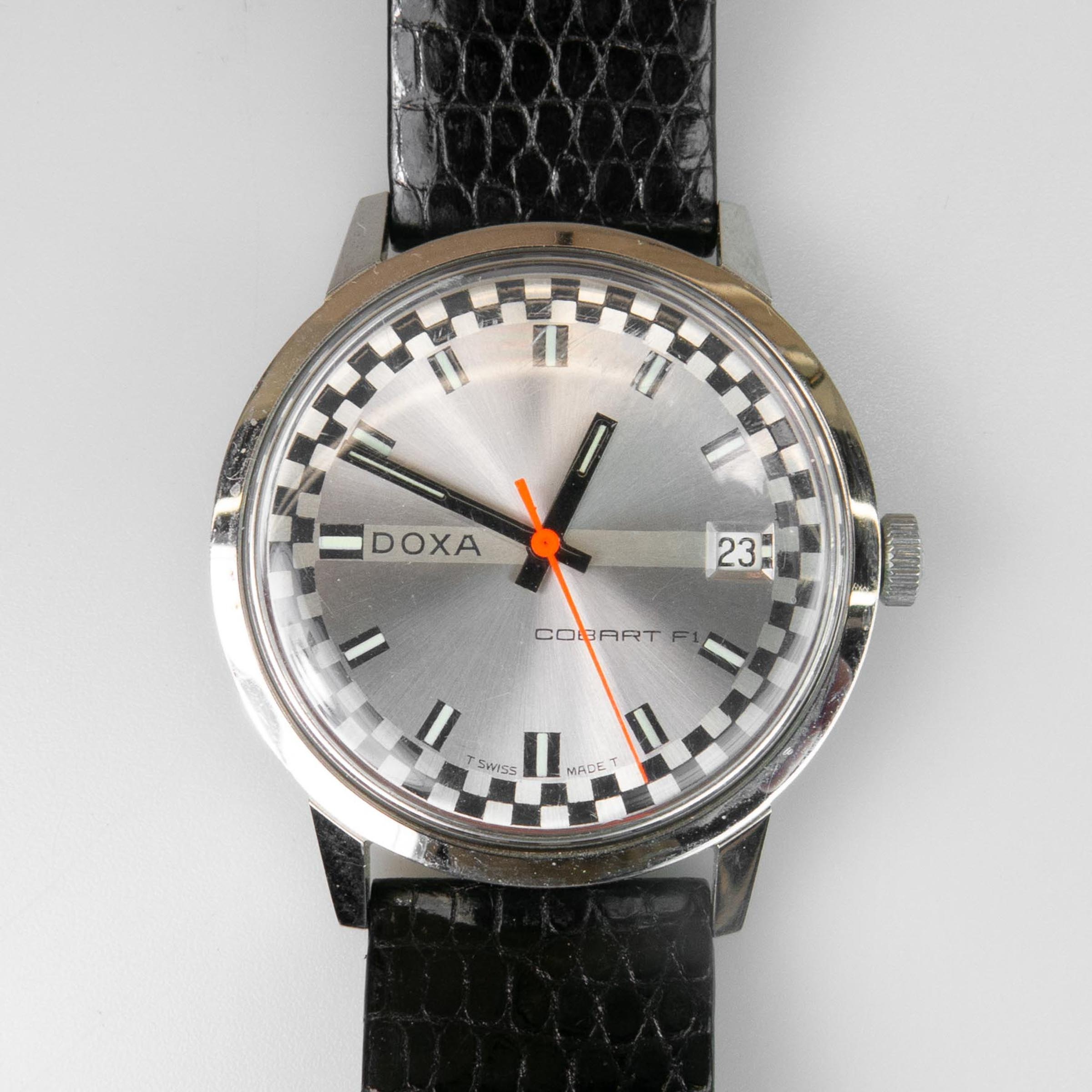 Doxa F1 Cobart Wristwatch, With Date