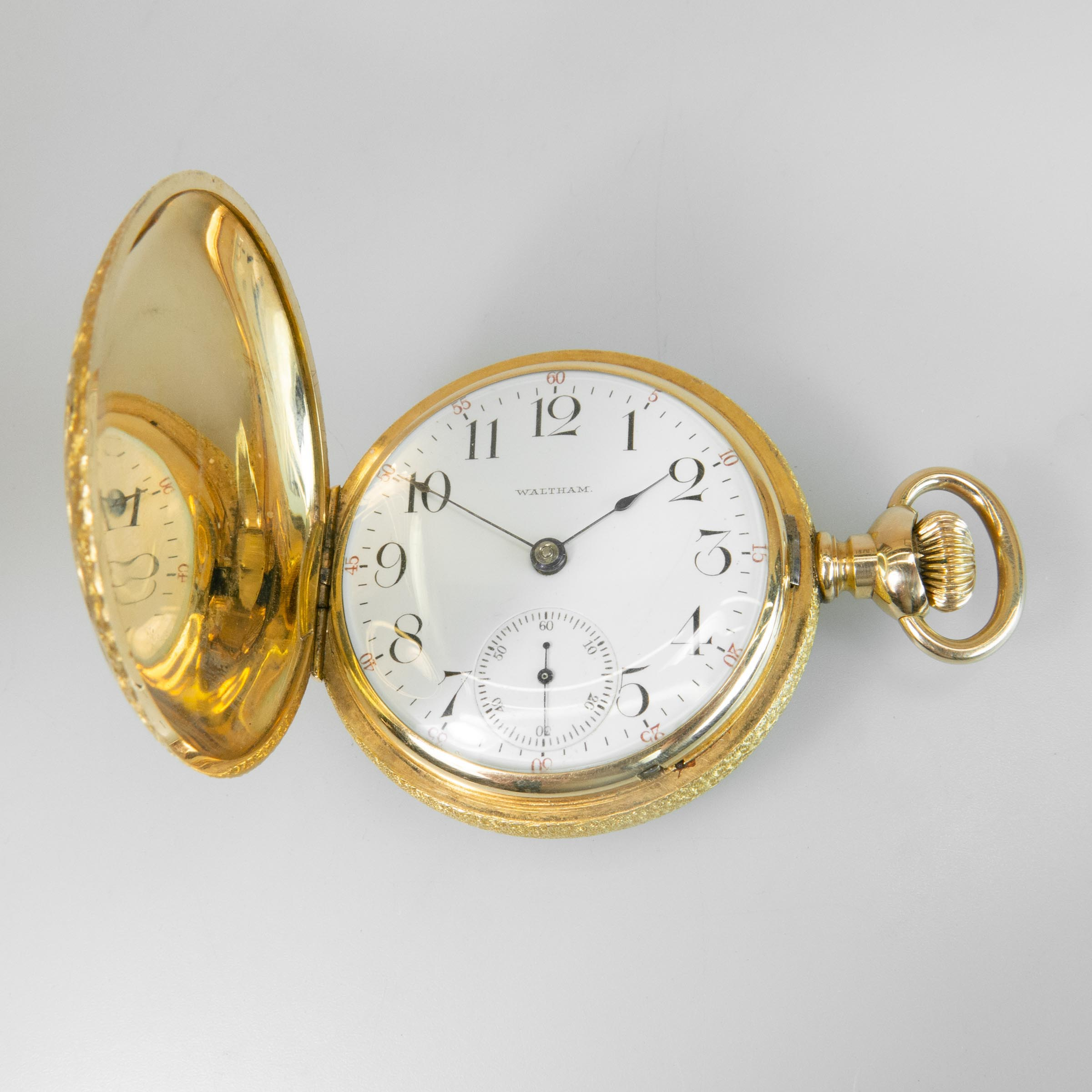 Waltham Stem Wind Pocket Watch