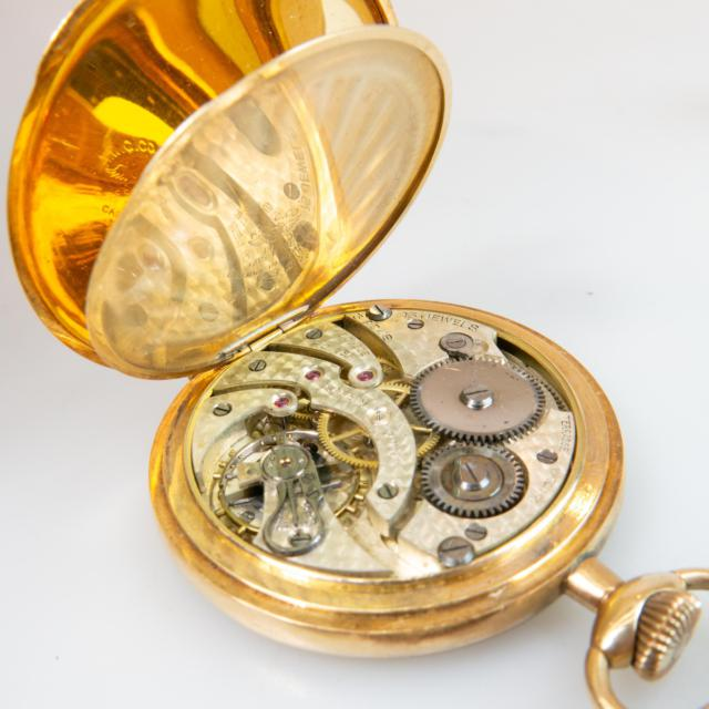 Terrasse Openface Pocket Watch