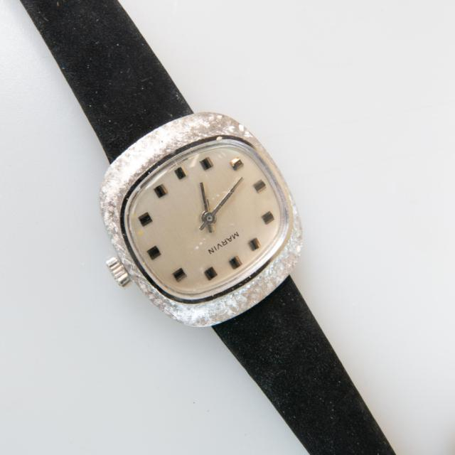 Three Lady's Marvin Wristwatches