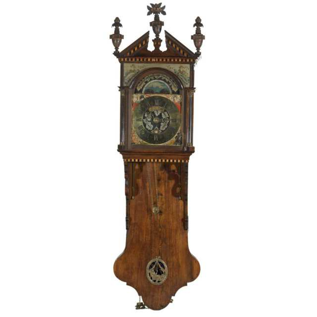 Dutch Walnut Cased Staart Clock