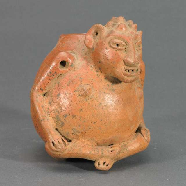 Pottery Human Effigy Vessel