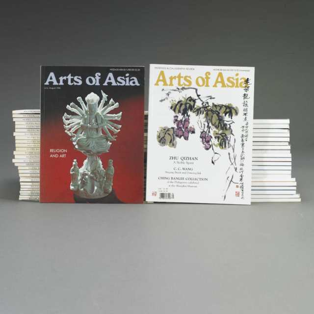 "Fifty Issues of ""Arts of Asia"""
