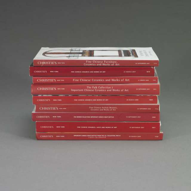 Christie's New York, 2001-2007, Eleven Volumes on Chinese Art
