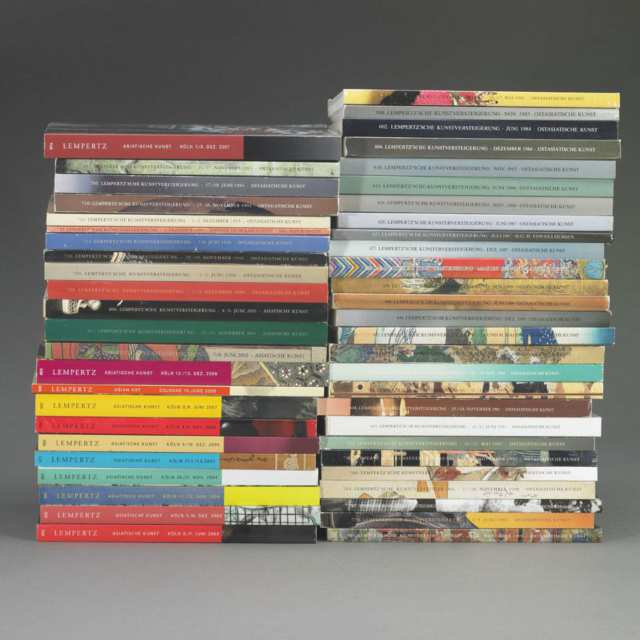 Lempertz Auktion Cologne, 1983-2008, Fifty Volumes on Asian Art