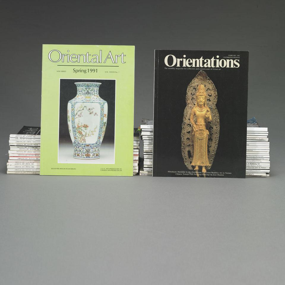 "Twenty-Five Issues of ""Orientations: The Magazine for Collectors and Connoisseurs of Asian Art"""