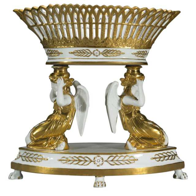 Paris Porcelain Centrepiece, late 19th century
