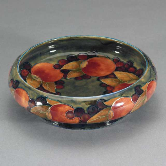 Moorcroft Pomegranate Bowl, c.1925