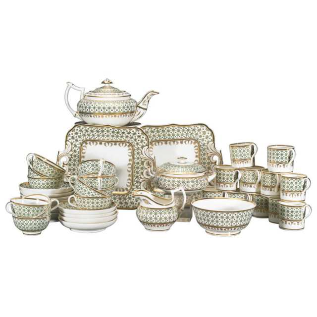 Bloor Derby Tea Service, c.1825-30