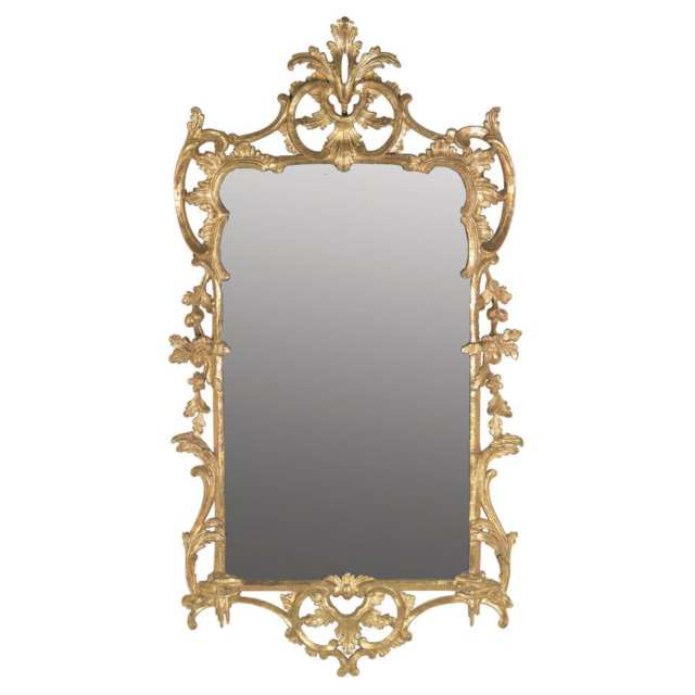 George III Style Giltwood Mirror, 19th century