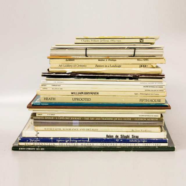 Twenty-Eight Volumes on Canadian Artists