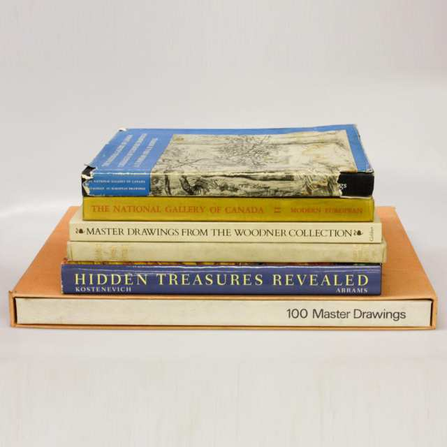 Six Volumes on International Art Collections