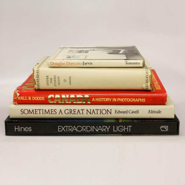 Five Volumes on Canadian Photography