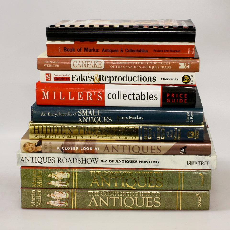 Eleven Volumes on Antiques