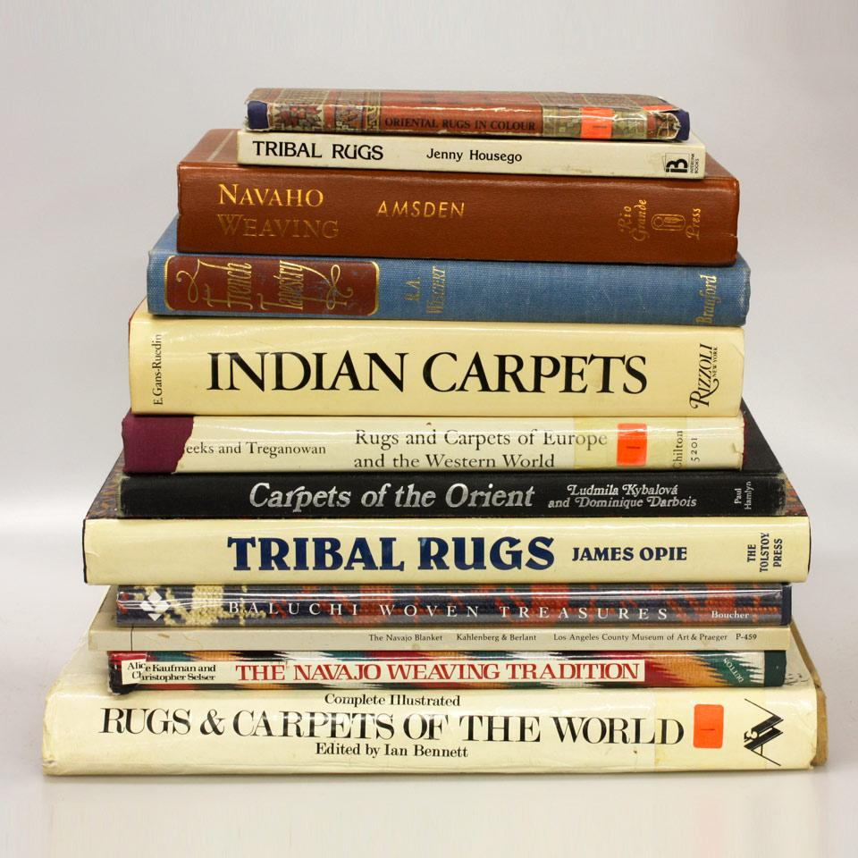 Thirteen Volumes on Rugs and Carpets, International