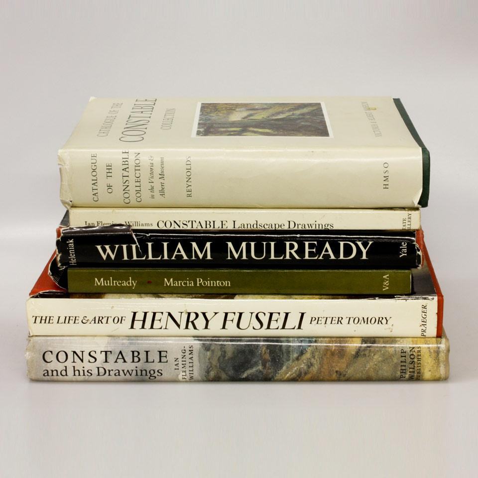 Nine Volumes on William Mulready, John Constable and Henry Fuseli