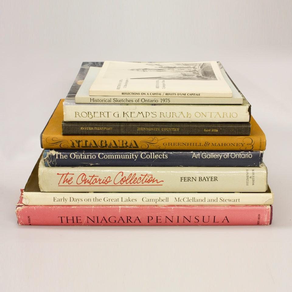 Nine Volumes on Art from Ontario