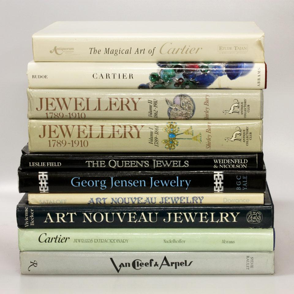 Ten Volumes on Fine Jewelry