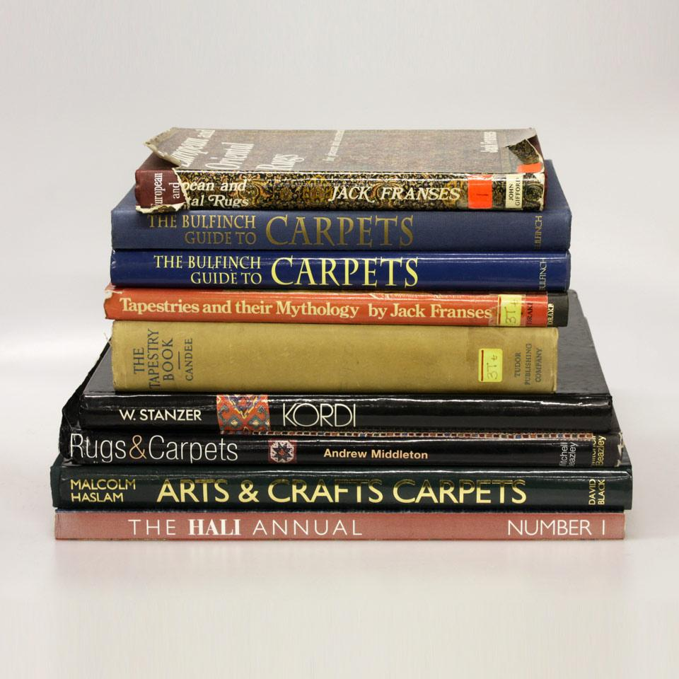 Nine Volumes on Carpets and Rugs