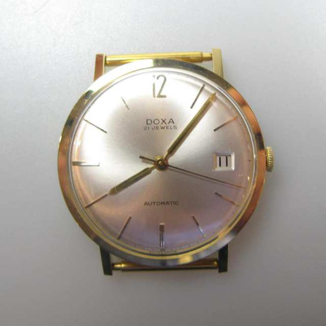 12 Doxa Automatic Wristwatches With Date