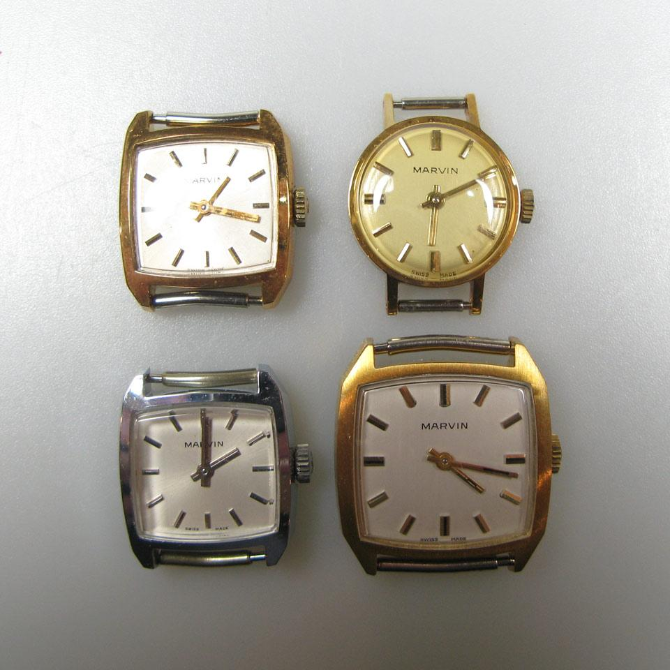 87 Various Lady's Marvin Wristwatches