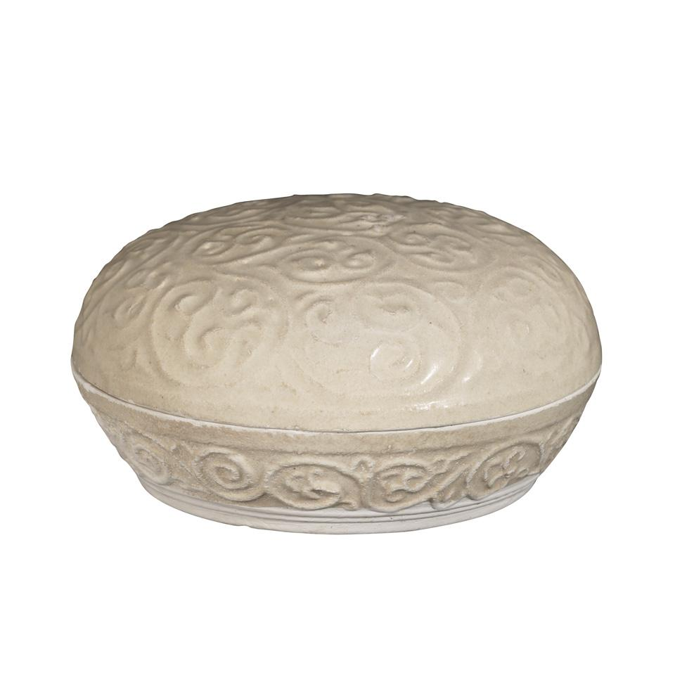 Moulded Box and Cover, Song Dynasty