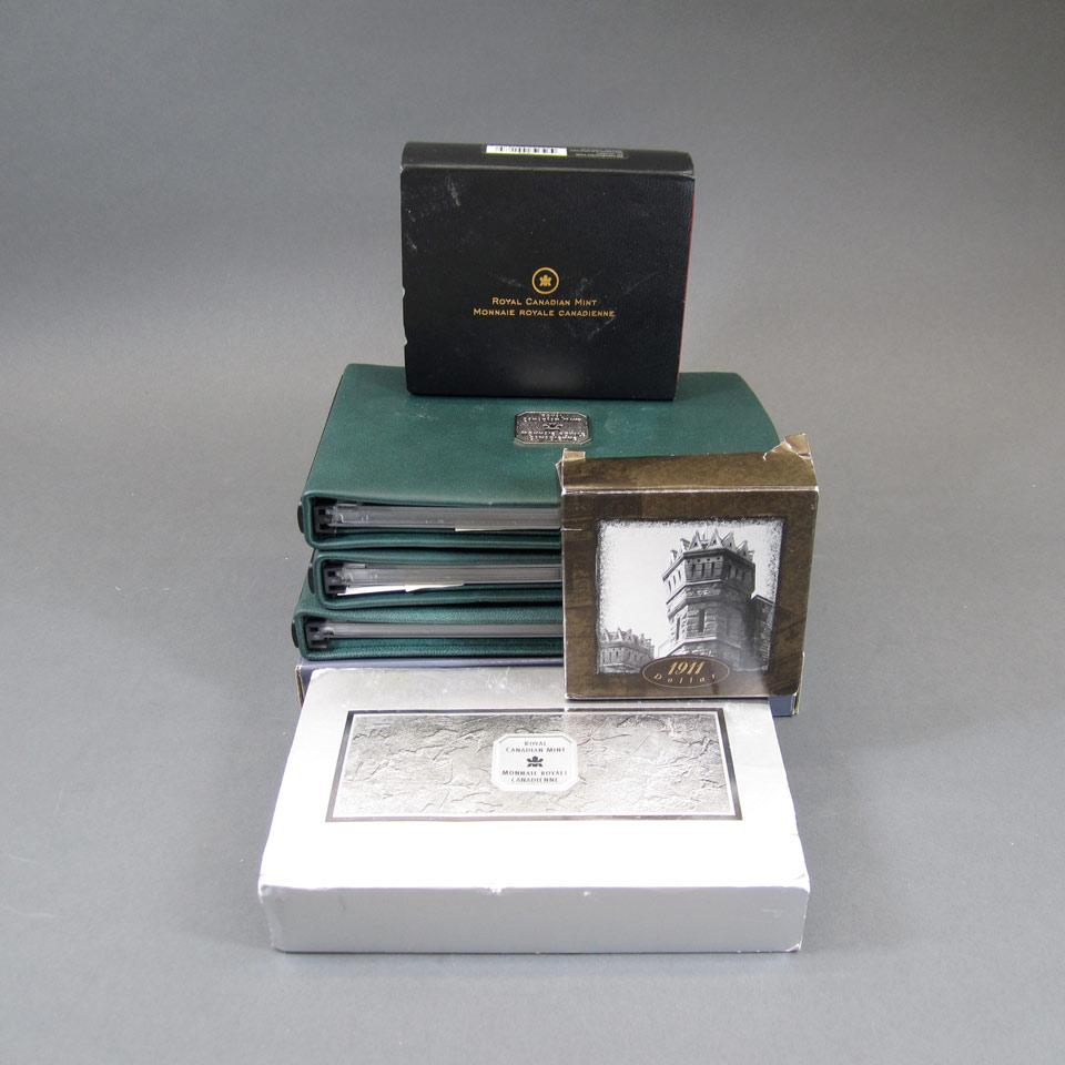 4 Canadian Proof Coin Sets