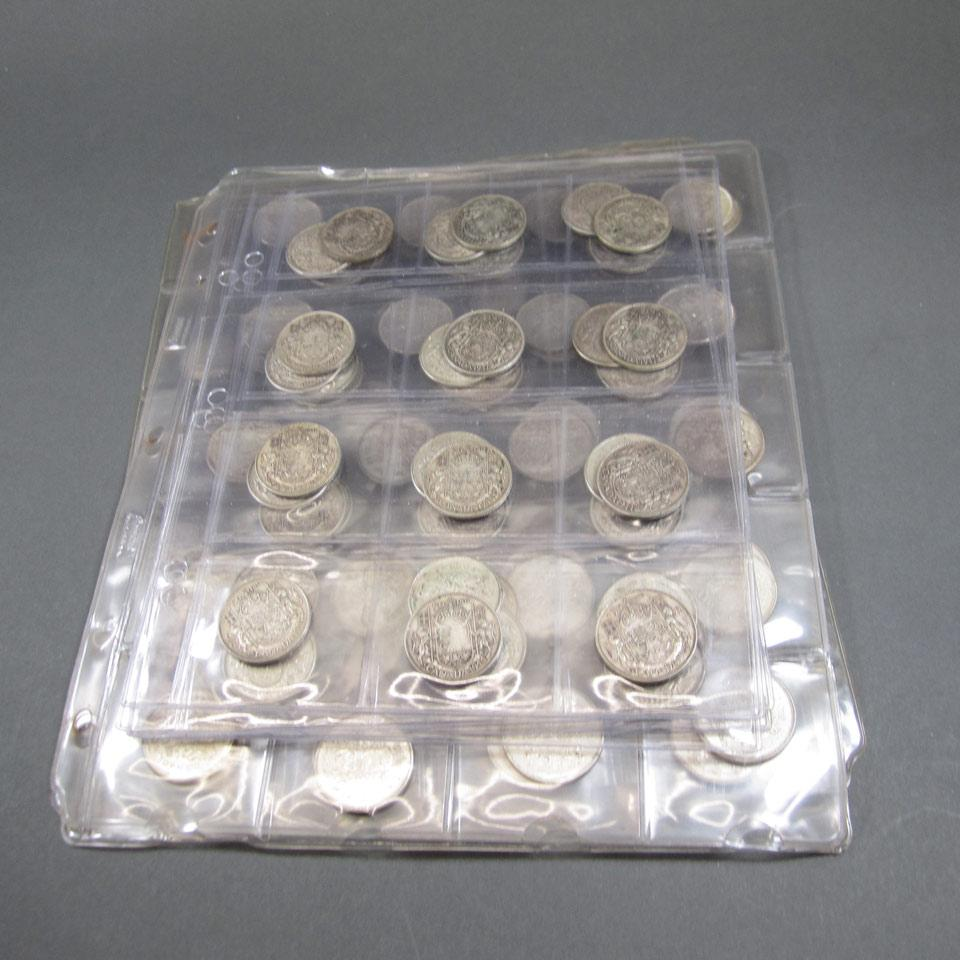 Quantity Of Canadian And American Coins