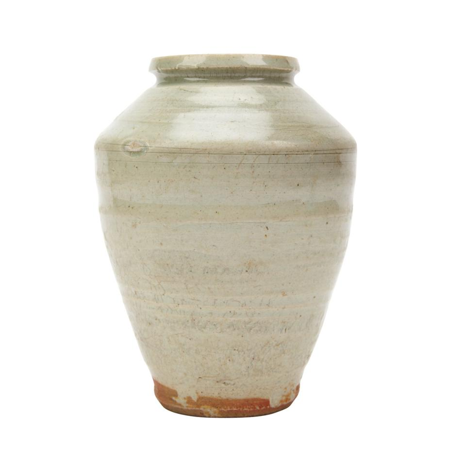 Celadon Longquan Vase, 14th to 16th Century