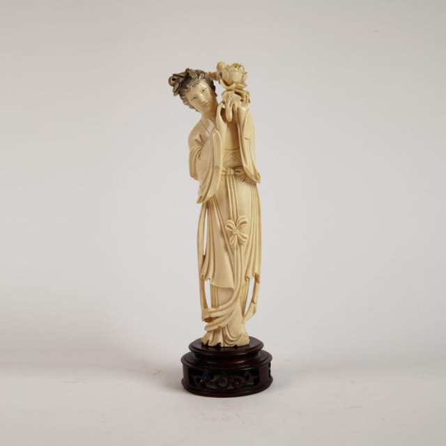 Ivory Carved Maiden