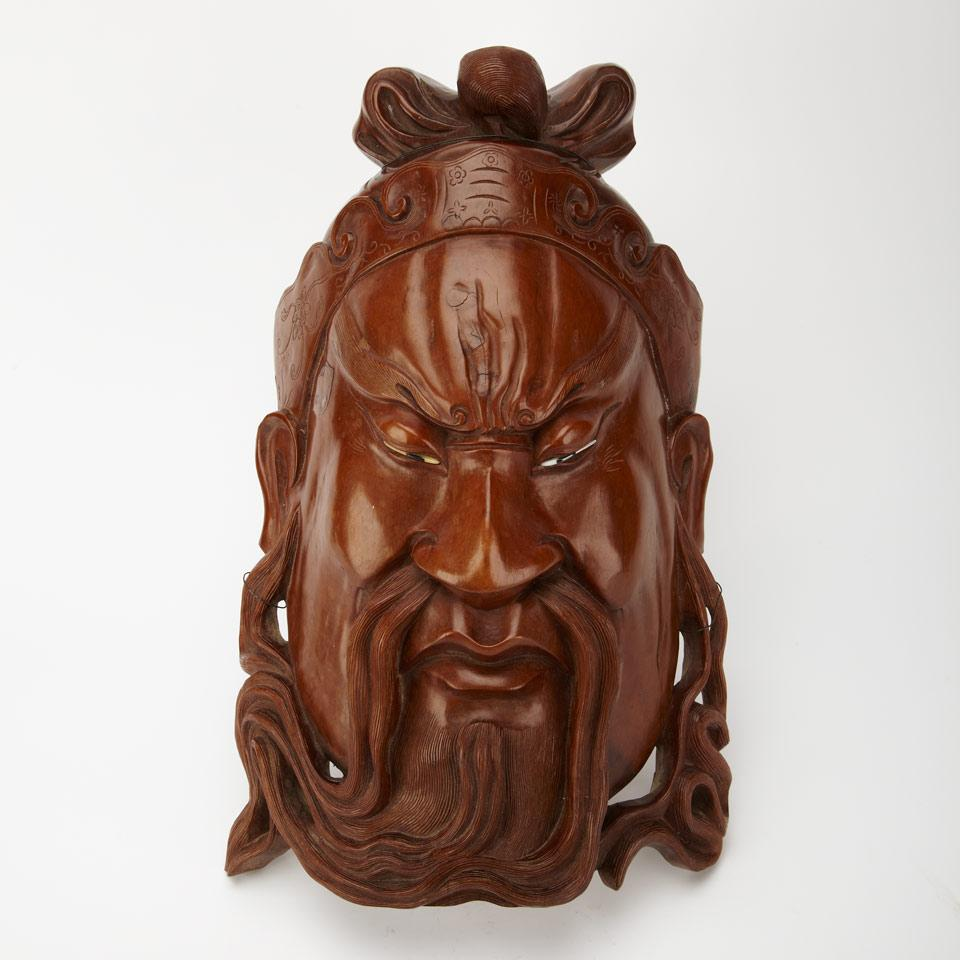 Large Hardwood Mask