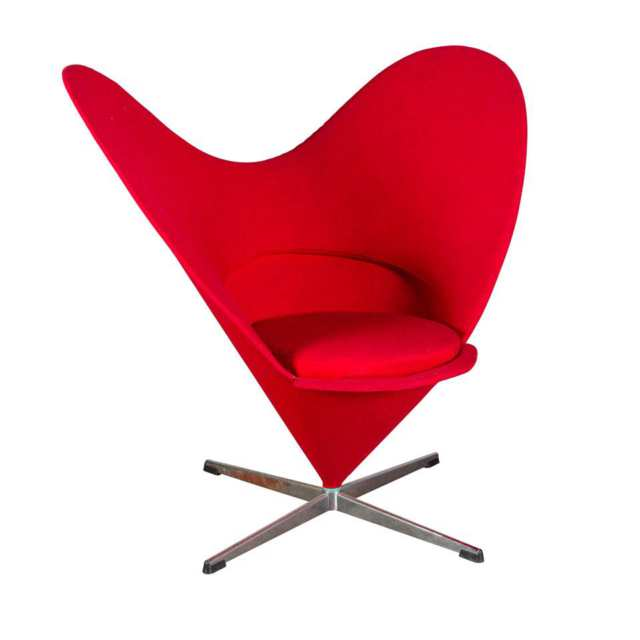 Verner Panton Heart Chair,